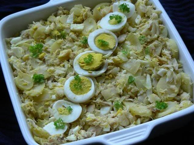 Bacalhau à Gomes De Sá /Cod & Potato Cape Verd (photo © kiwidutch)