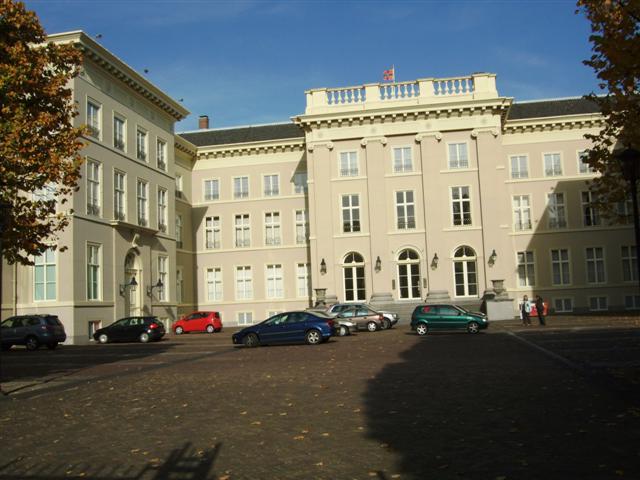Paleis Noordeinde rear view