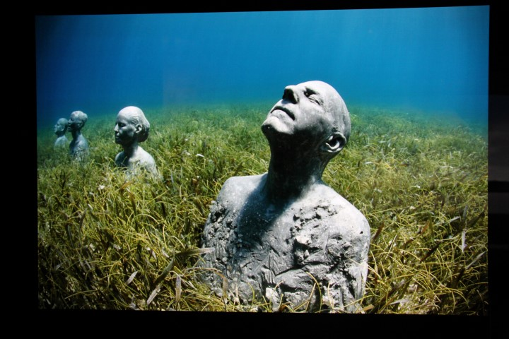 (photograph © Jason deCaires Taylor)