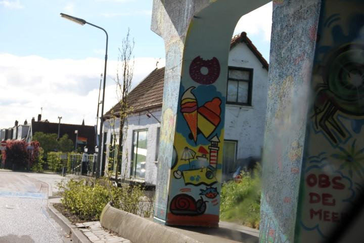 Bruinisse, Graffitti, Bridge, Overpass, Art